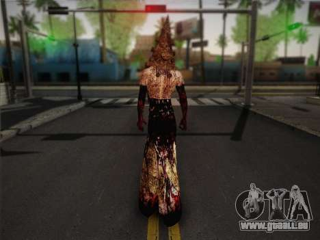 Pyramid Head From Silent Hill: Homecoming für GTA San Andreas zweiten Screenshot