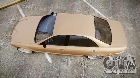 Schafter AMG für GTA 4 rechte Ansicht