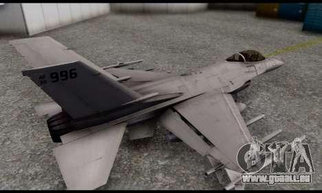 P-996 Lazer from GTA 5 pour GTA San Andreas laissé vue