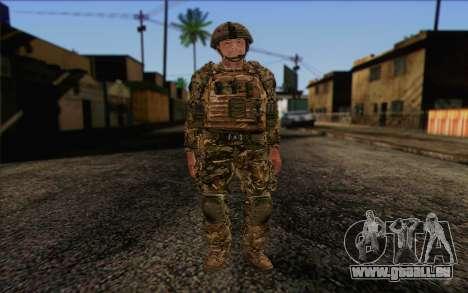 Des soldats britanniques (ArmA II: BAF) v3 pour GTA San Andreas