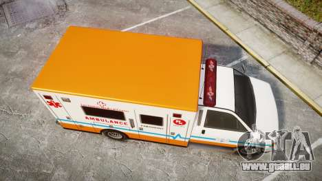 GTA V Brute Ambulance [ELS] für GTA 4 rechte Ansicht