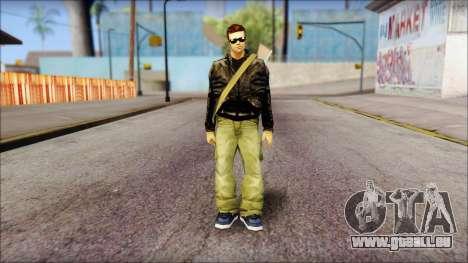 Shades and Gun Claude v1 für GTA San Andreas