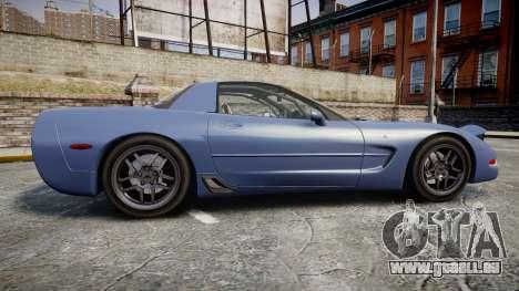 Chevrolet Corvette Z06 (C5) 2002 v2.0 pour GTA 4 est une gauche