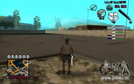 C-HUD by SampHack v.13 pour GTA San Andreas troisième écran