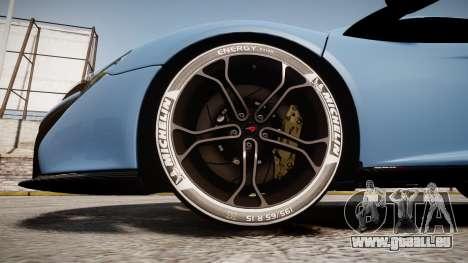 McLaren 650S Spider 2014 [EPM] Michelin v3 pour GTA 4 Vue arrière