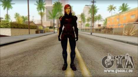 Mass Effect Anna Skin v2 für GTA San Andreas