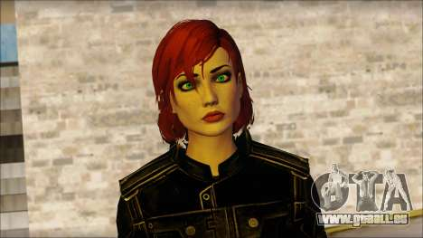 Mass Effect Anna Skin v4 pour GTA San Andreas troisième écran