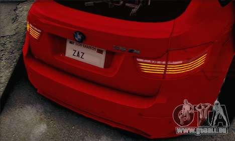 BMW X6M 2013 v3.0 pour GTA San Andreas vue de droite