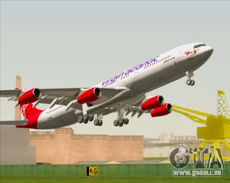 Airbus A340-313 Virgin Atlantic Airways für GTA San Andreas