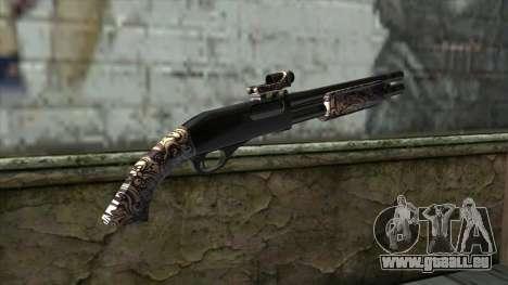 PurpleX Shotgun pour GTA San Andreas deuxième écran