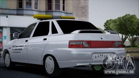 VAZ 2110 Visage de Grenouille pour GTA San Andreas vue de droite