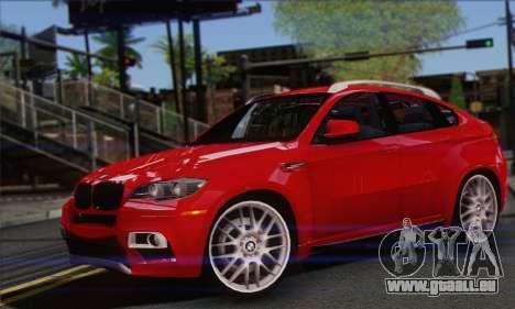 BMW X6M 2013 v3.0 pour GTA San Andreas