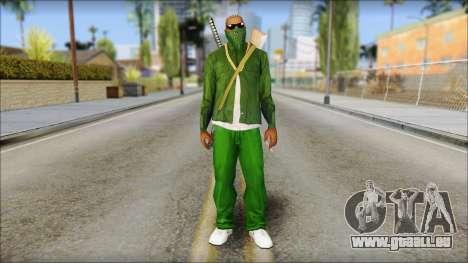New CJ v5 pour GTA San Andreas