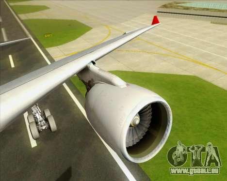 Airbus A330-300 Qantas pour GTA San Andreas