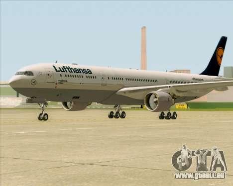 Airbus A330-300 Lufthansa für GTA San Andreas linke Ansicht