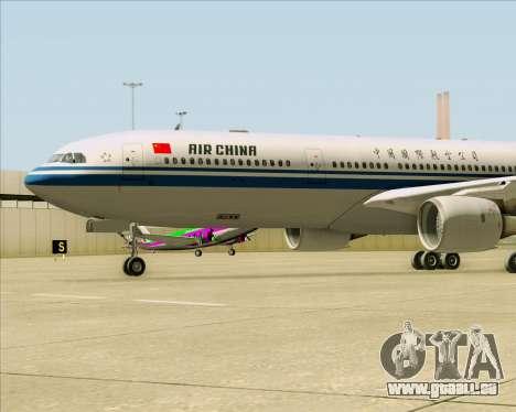 Airbus A330-300 Air China für GTA San Andreas Seitenansicht
