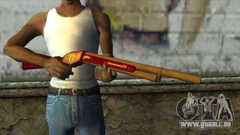M1887 from PointBlank v1 für GTA San Andreas dritten Screenshot