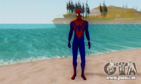 Skin The Amazing Spider Man 2 - Ben Reily für GTA San Andreas zweiten Screenshot