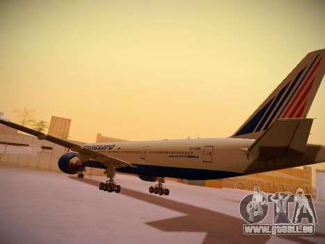 Boeing 777-212ER Transaero Airlines für GTA San Andreas Rückansicht
