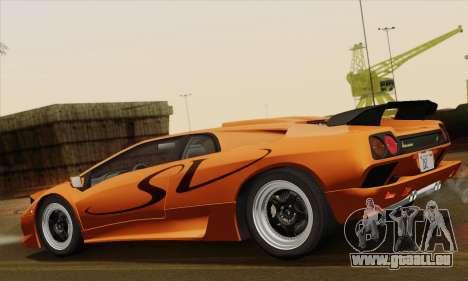 Lamborghini Diablo SV 1995 (ImVehFT) pour GTA San Andreas laissé vue