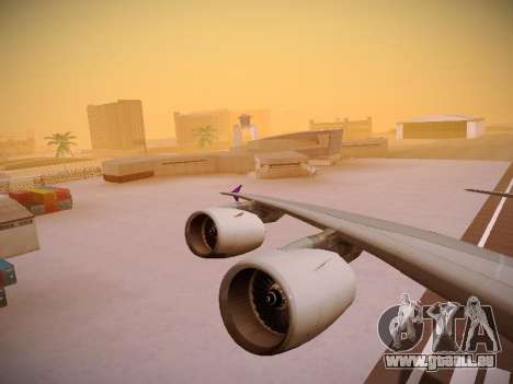Airbus A380-800 Thai Airways International pour GTA San Andreas moteur