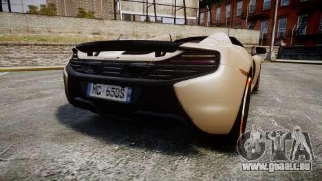 McLaren 650S Spider 2014 [EPM] Bridgestone v1 für GTA 4 hinten links Ansicht