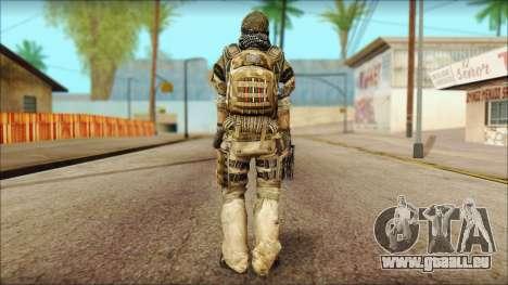 Vétéran (M) v1 pour GTA San Andreas deuxième écran