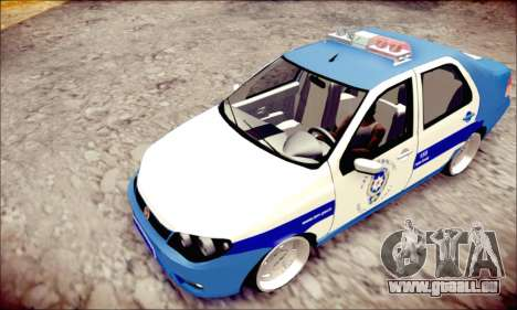 Fiat Albea Police Turkish pour GTA San Andreas