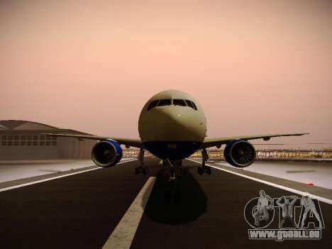 Boeing 777-212ER Transaero Airlines pour GTA San Andreas roue