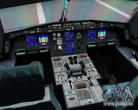 Airbus A330-300 Aer Lingus für GTA San Andreas Innen