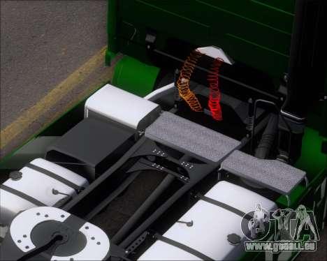 Mercedes-Benz Actros 3241 pour GTA San Andreas vue de dessus