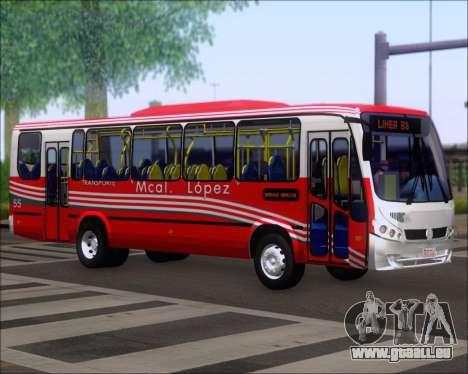 Neobus Spectrum Linea 38 Mcal. Lopez pour GTA San Andreas