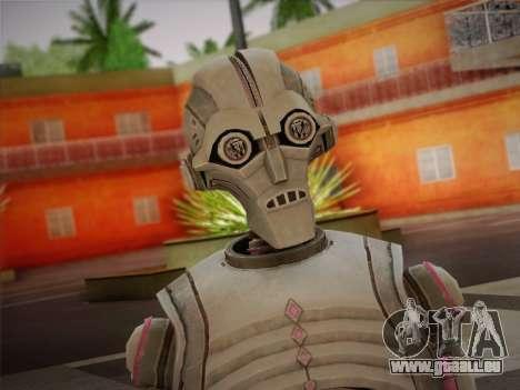 Kraang Robot für GTA San Andreas dritten Screenshot