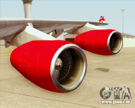 Airbus A340-313 Virgin Atlantic Airways pour GTA San Andreas