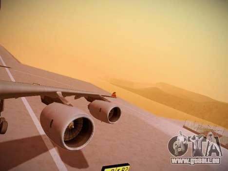 Airbus A340-600 Hainan Airlines für GTA San Andreas Innen