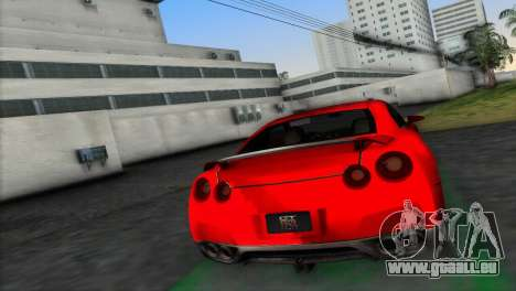 Nissan GT-R Prototype für GTA Vice City linke Ansicht