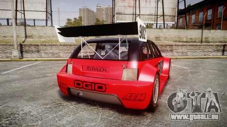 Zenden Cup Ogio pour GTA 4 Vue arrière de la gauche