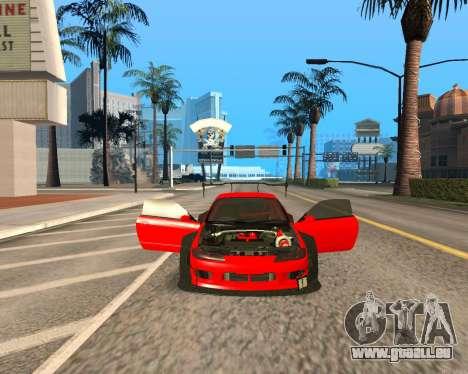 Slivia Red Planet pour GTA San Andreas vue arrière
