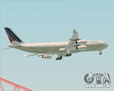 Airbus A340-313 Air France (Old Livery) für GTA San Andreas Innen