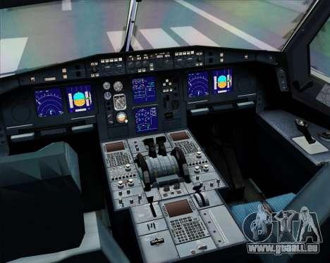 Airbus A330-300 Lufthansa für GTA San Andreas Innen