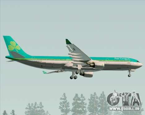 Airbus A330-300 Aer Lingus für GTA San Andreas Innenansicht