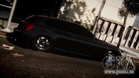 BMW 135i für GTA 4 rechte Ansicht