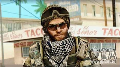 Vétéran (M) v1 pour GTA San Andreas troisième écran