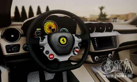 Ferrari FF 2012 pour GTA San Andreas vue de droite