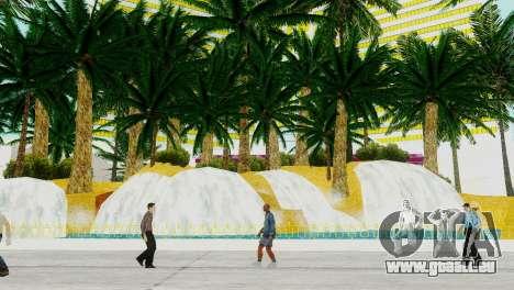 Neue Texturen casino Visage in Las Venturas für GTA San Andreas dritten Screenshot