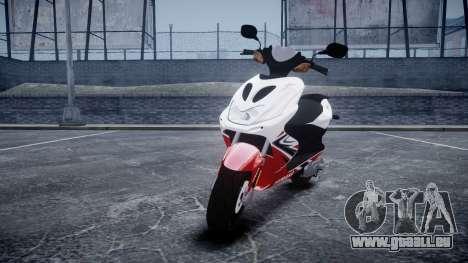 Yamaha Aerox R für GTA 4