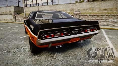 Dodge Challenger 1971 v2.2 PJ9 für GTA 4 hinten links Ansicht