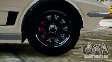 GTA 5 Coquette Classic pour GTA 4 Vue arrière de la gauche