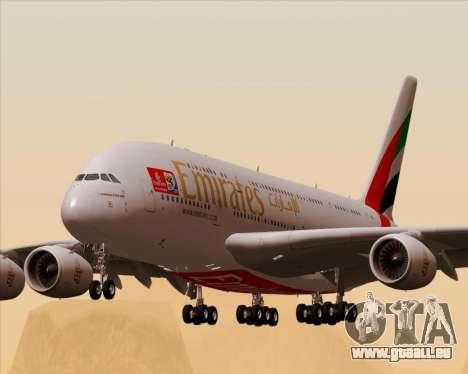 Airbus A380-841 Emirates für GTA San Andreas