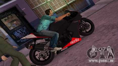 Aprilia RSV4 2009 Original für GTA Vice City
